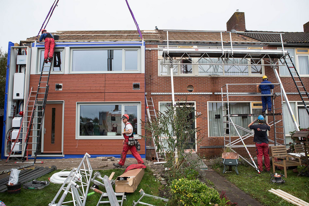 Energiesprong r novation passive moindre co t for Cout travaux renovation